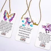 """You Are Valued"" Word Necklace-Handcrafted Affirmations"