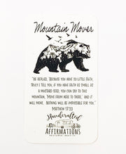 """Mountain Mover"" Handmade Bracelet Set-Handcrafted Affirmations"