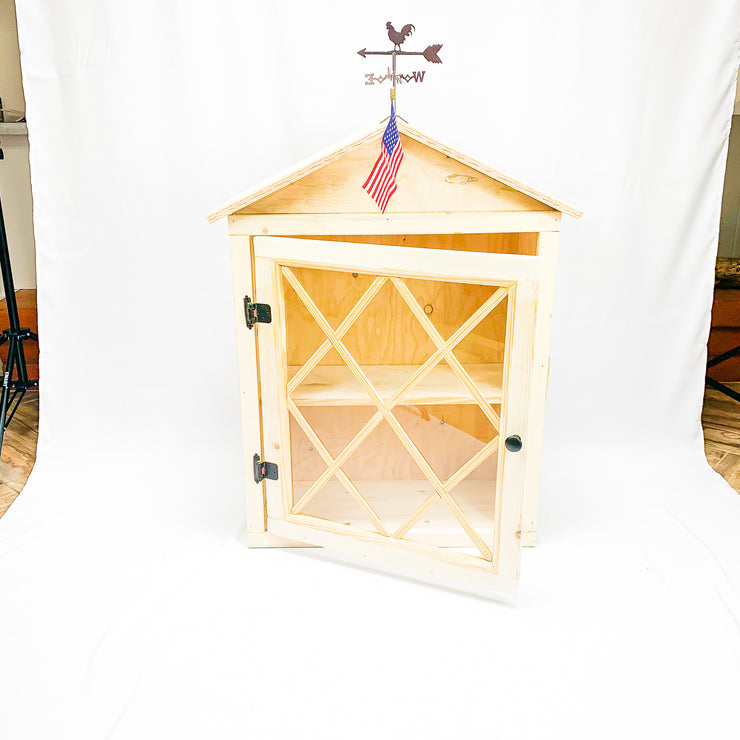 Mini Weathervanes for Little Lending Libraries