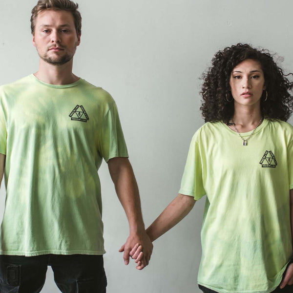 TOUCH ME & DYE- unisex color changing t-shirt (atomic mist)
