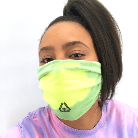 Color Changing Tie Dye Mask (Atomic Mist)