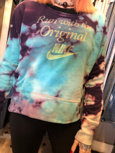 Nike Tie Dye French Terry Crew