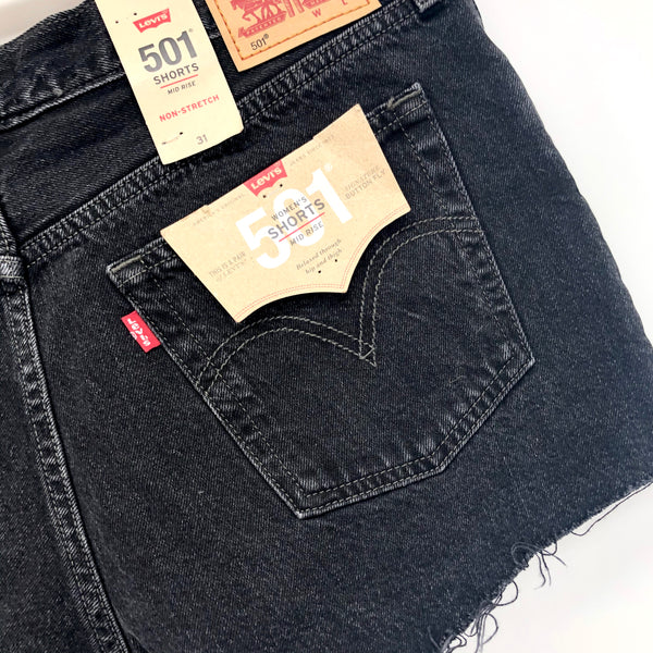 Levi's 501™ Original Black Denim Shorts
