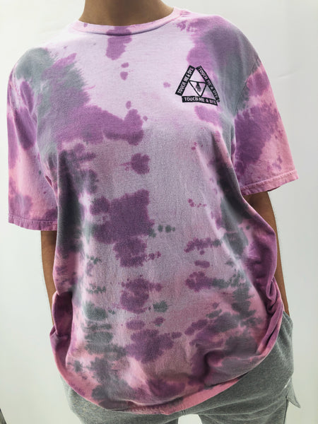 Unisex Color Changing Tie Dye T-Shirt (Kaleidoscope)