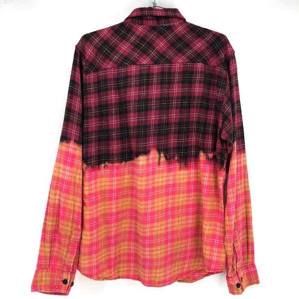 RECOLLECTION Ombre Plaid Flannel
