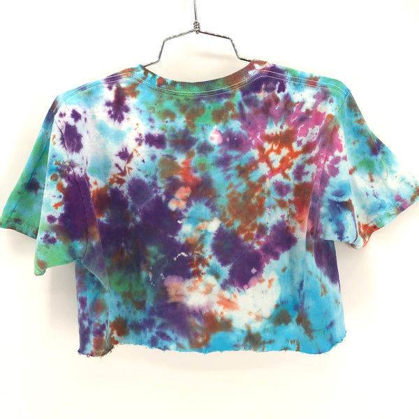 RECOLLECTION Vintage True Tie Dye Crop T-Shirt