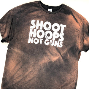 RECOLLECTION Distressed Shoot Hoops T-Shirt