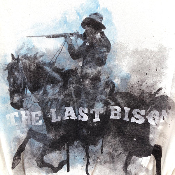 RECOLLECTION Vintage Last Bison Crop T-Shirt