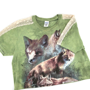RECOLLECTION Vintage Foxy Crop T-Shirt