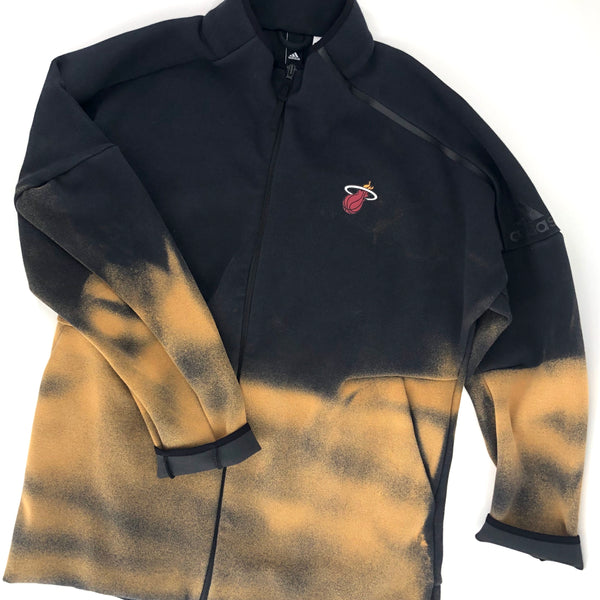 RECOLLECTION Distressed Miami Heat Jacket
