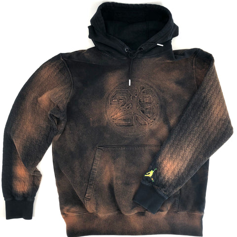 RECOLLECTION Distressed Nike Jordan Hoodie