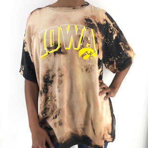 RECOLLECTION Vintage Iowa Bleach Out T-Shirt