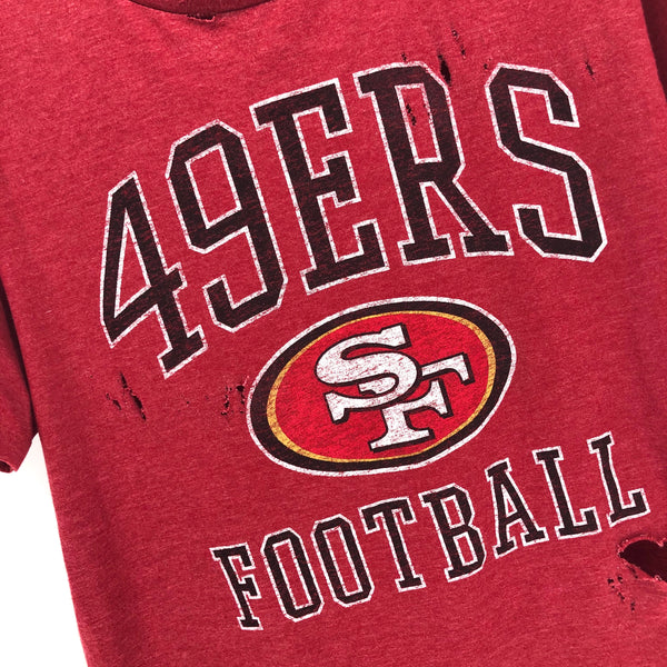 RECOLLECTION Distressed San Francisco 49ers T-Shirt