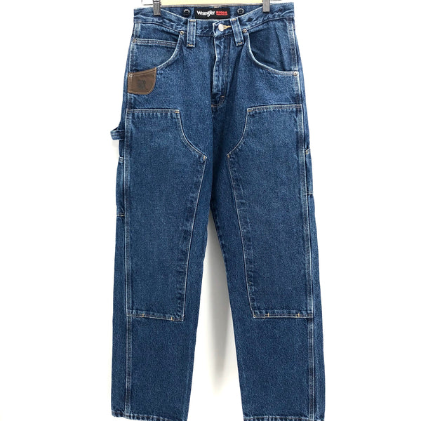 RECOLLECTION WRANGLER WORKWEAR Cargo Carpenter Jeans