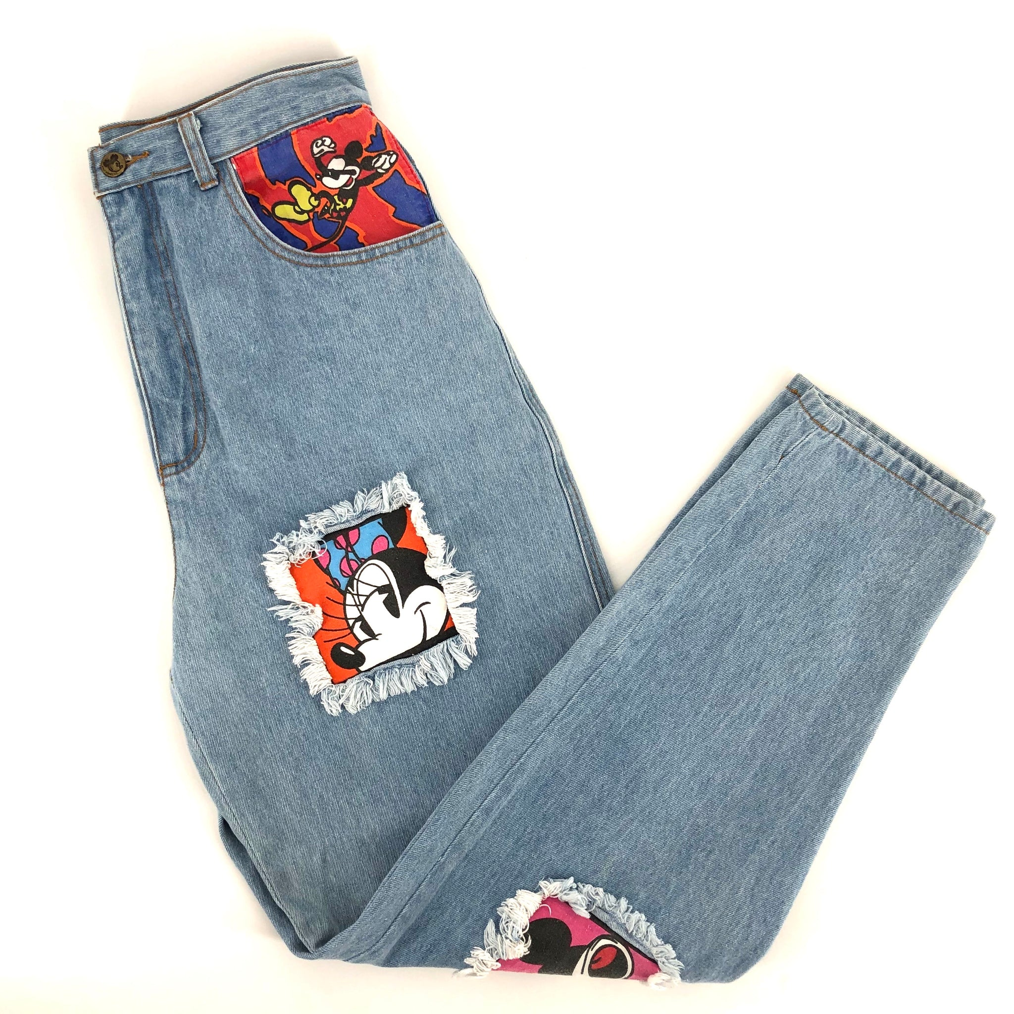 RECOLLECTION Vintage Mickey Minnie Jeans