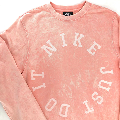 RECOLLECTION Distressed Tie Dye Nike Sweatshirt