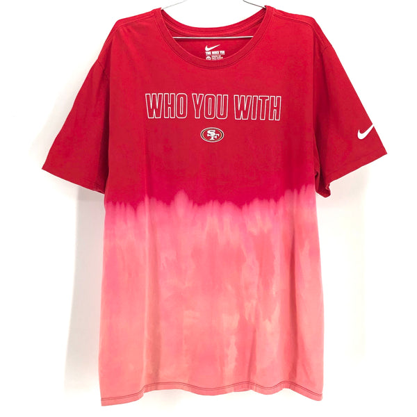 RECOLLECTION Ombre Gradient San Francisco 49ers T-Shirt