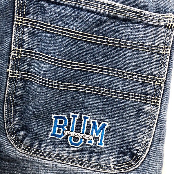 RECOLLECTION Vintage B.U.M. Equipment Cargo Carpenter Jeans