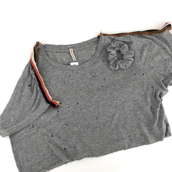 RECOLLECTION Vintage Inspired Emma & Sam Boxy Crop T-Shirt