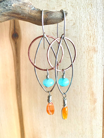 Sky & Sun Earrings