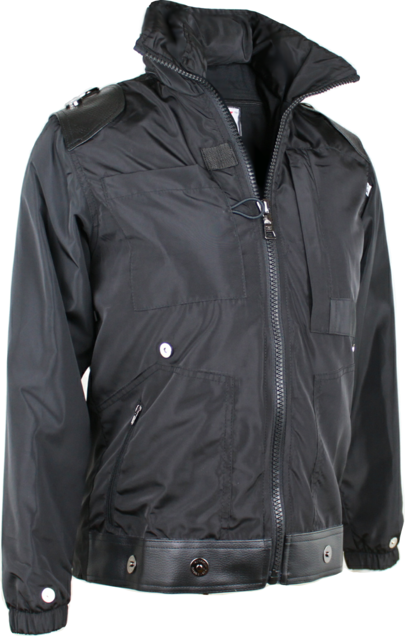 A Travel-Jacket with Concealed Pockets and Hood - for Women - Windbreaker