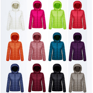 Ultra Light Down Filled Jacket Women's