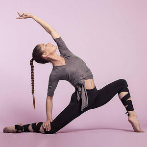 Lace up strappy leggings woman fitness slim legging sportswear athleisure elastic jeggings pants