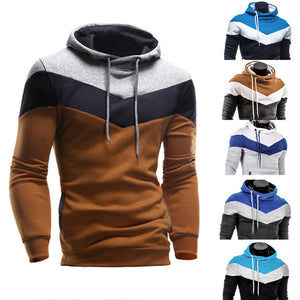Men's Retro Long Sleeve Hoodie Hooded Sweatshirt Tops Jacket Coat Outwear