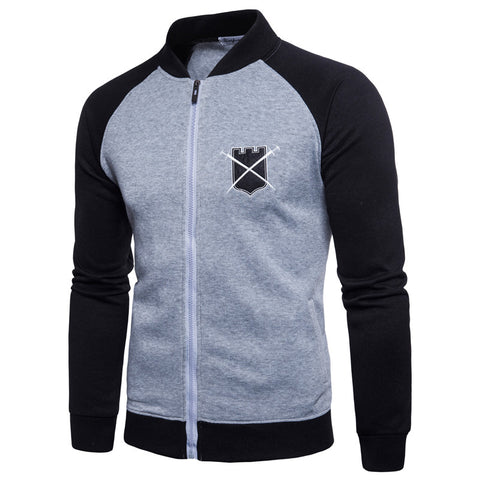 Men's Hoodies Zipper Jacket Baseball Tracksuit Plus Size