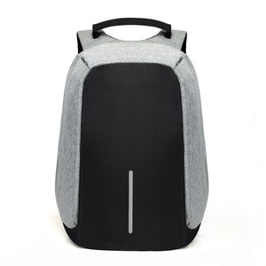 15 inch Backpack Men Anti Theft Travel Bag USB Laptop Charging Mochila School Male Waterproof