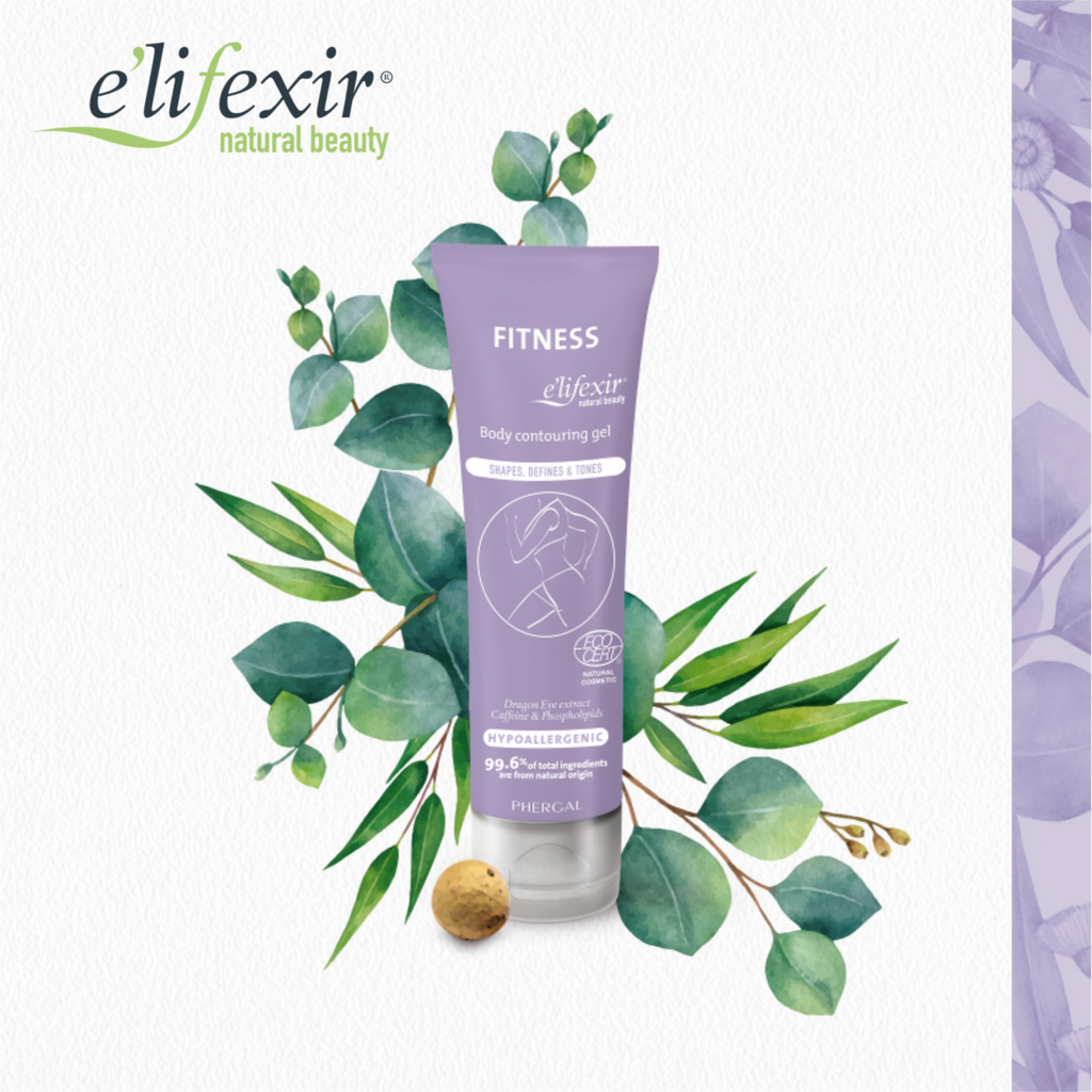 e'lifexir Natural Beauty FITNESS Body Contouring Gel