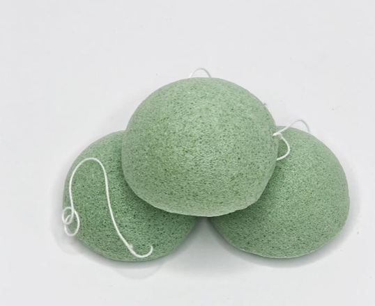Konjac Facial Sponge - Green Tea