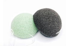 Load image into Gallery viewer, Konjac Facial Sponge - Green Tea