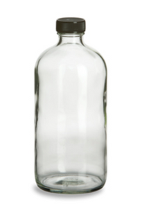 Clear Boston Round - 32 oz.