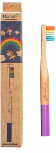 Kids Bamboo Toothbrush - Rainbow For Equality