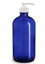 Load image into Gallery viewer, Blue Boston Round w/Pump - 8 oz.