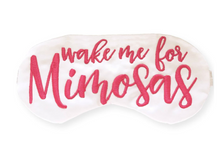 Load image into Gallery viewer, Mimosas Sleep Mask
