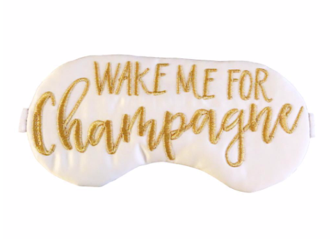 Champagne Sleep Mask