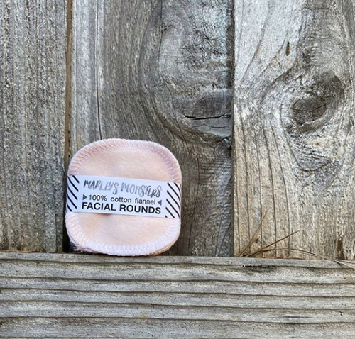 Reusable Facial Rounds - Soft Pink