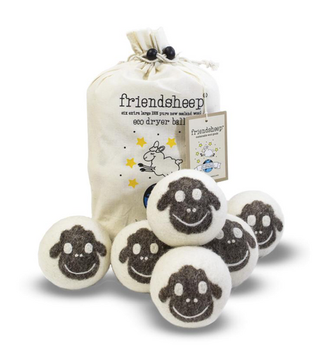 Wood Dryer Balls - Sheep ( 6-pack)