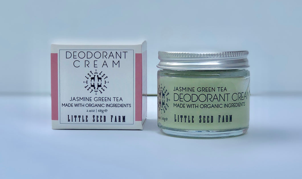 Deodorant Cream - Jasmine Green Tea