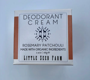 Deodorant Cream - Rosemary Patchouli