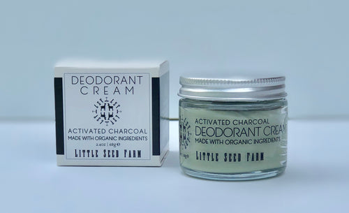 Deodorant Cream - Activated Charcoal