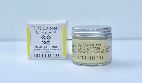 Deodorant Cream - Grapefruit Lemon