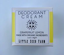 Load image into Gallery viewer, Deodorant Cream - Grapefruit Lemon