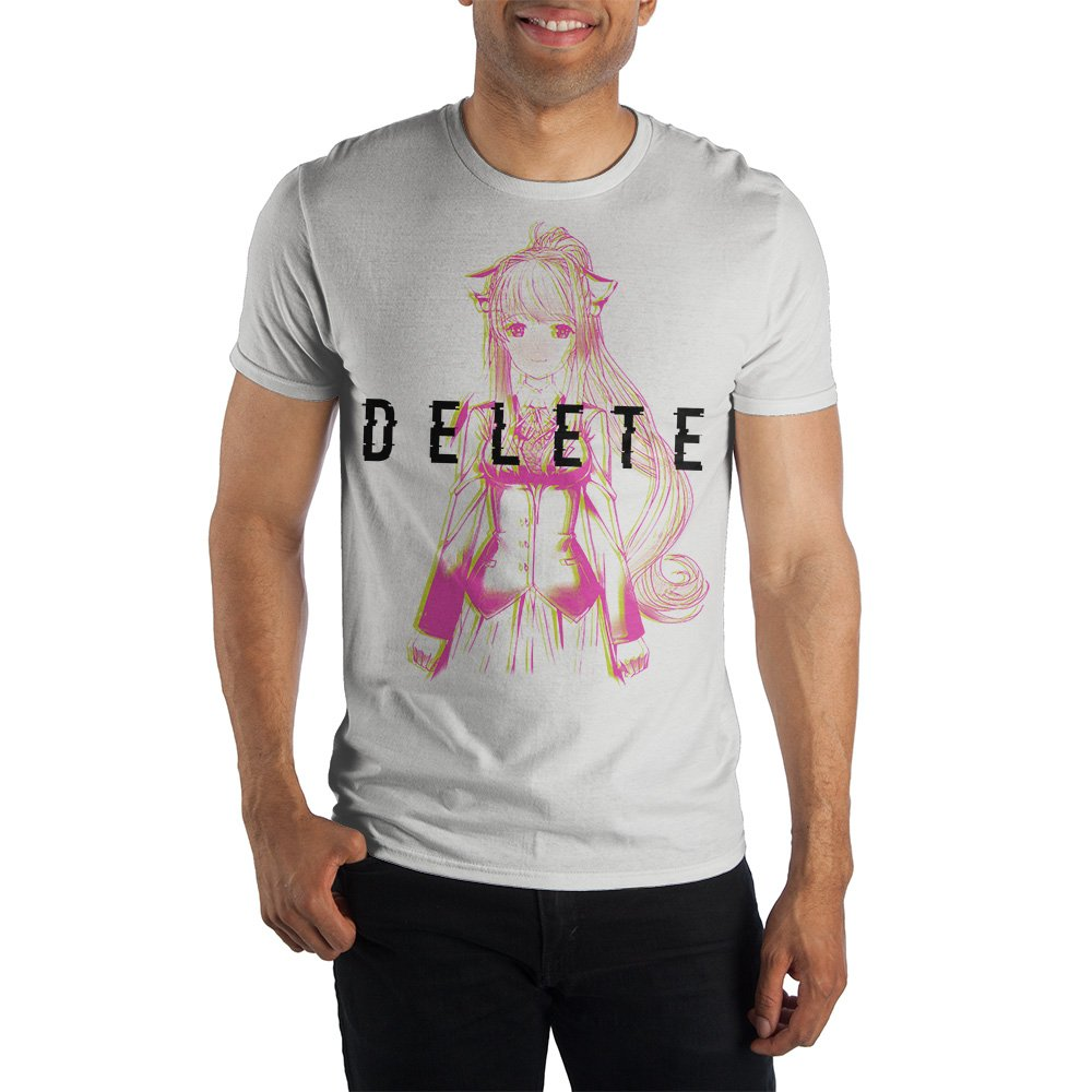 Doki Doki Literature Club! Shirt Delete Panic Men's T-Shirt