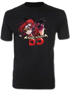Great Eastern Entertainment High School DxD Men's Issei and Rias T-Shirt