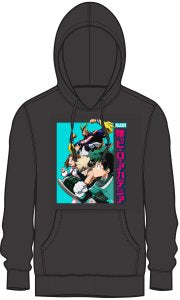 My Hero Academia Midoriya, Froppy, Lida, and All Might Group Hoodie