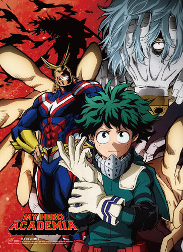 MY HERO ACADEMIA - S2 GROUP 2 WALL SCROLL