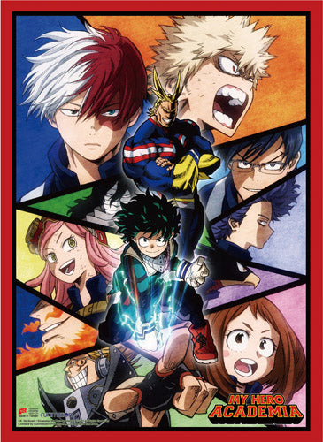 My Hero Academia - Midoriya, Todoroki, Bakugo Group Wall Scroll
